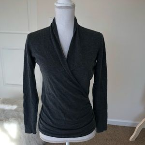 THE LIMITED wrap blouse